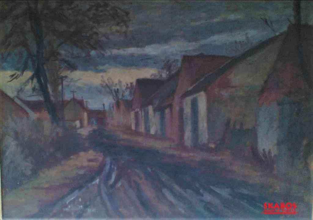 Obraz Jaroslav Blažek, Kostické stodole (1/2)