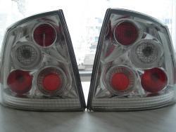 Zadní tuningové svetla Opel Astra G.