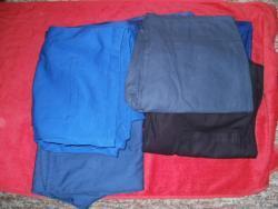 Monterkové kalhoty-100kč-ks.