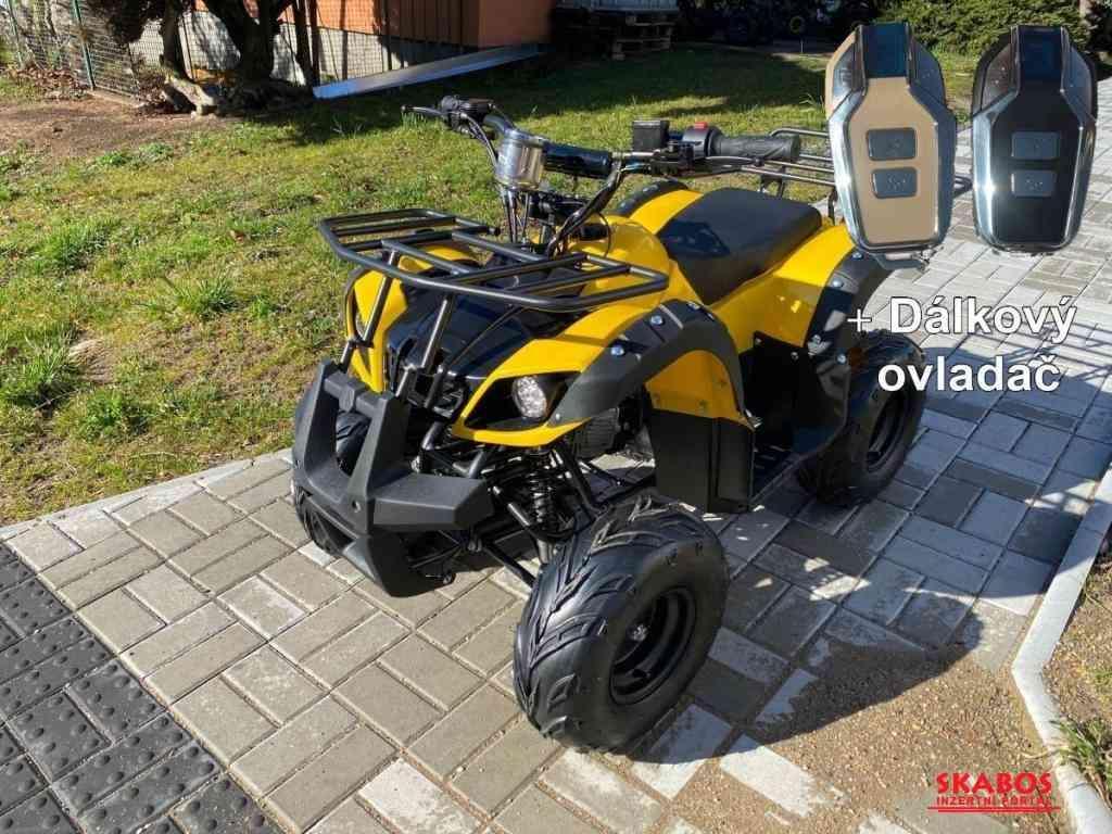 Dětská čtyřkolka Toronto 125cc 1G7 Deluxe - žlutý (1/5)