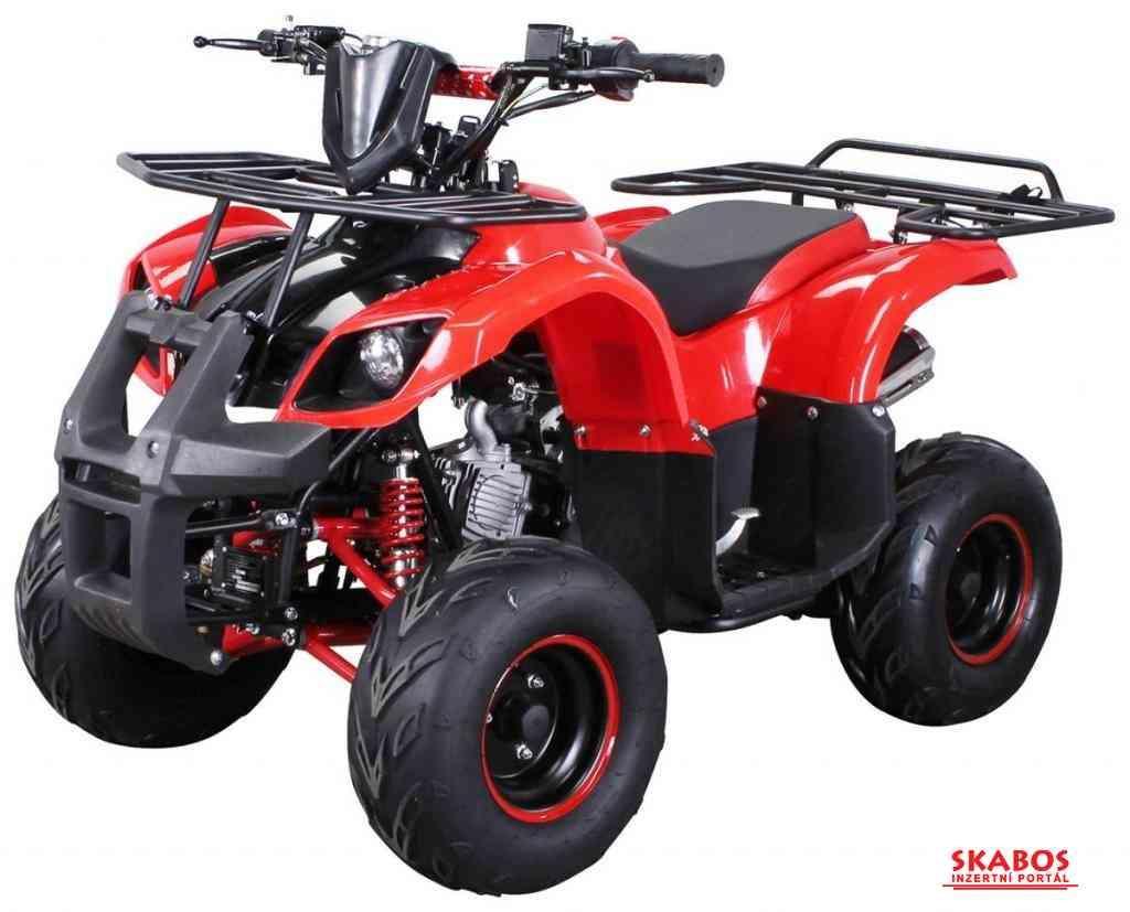 Dětská čtyřkolka Toronto 125cc 1G7 Deluxe- Červená (1/5)
