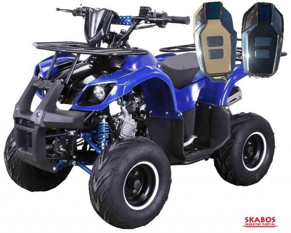 Dětská čtyřkolka Toronto 125cc 1G7 Deluxe - modrý (1/5)