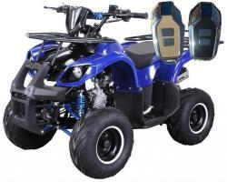 Dětská čtyřkolka Toronto 125cc 1G7 Deluxe - modrý