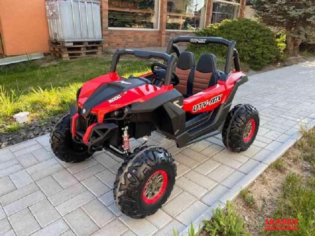 Elektrické autíčko NEW RSX 4x4, 2x12V Červené (1/5)