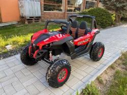 Elektrické autíčko NEW RSX 4x4, 2x12V Červené