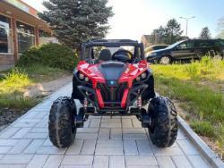 Elektrické autíčko NEW RSX 4x4, 2x12V Červené (1597511453/5)