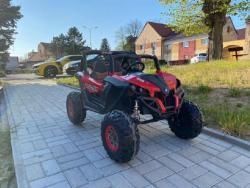Elektrické autíčko NEW RSX 4x4, 2x12V Červené (1597511455/5)