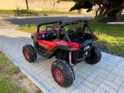 Elektrické autíčko NEW RSX 4x4, 2x12V Červené (1597511456/5)