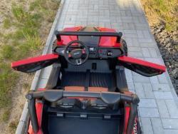 Elektrické autíčko NEW RSX 4x4, 2x12V Červené (1597511457/5)