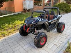 Elektrické autíčko NEW RSX 4x4, 2x12V Černé