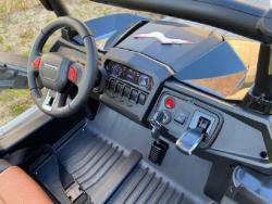Elektrické autíčko NEW RSX 4x4, 2x12V Černé (1597511639/5)