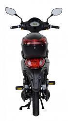 RACCEWAY E-MOPED, černý-lesklý s baterií 20Ah (1599025735/5)