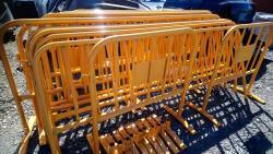 Přenosné zábrany/ploty