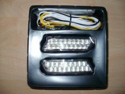 Svetla pro denní svícení DRL 2x18 led.12/24v. (1603041977/5)