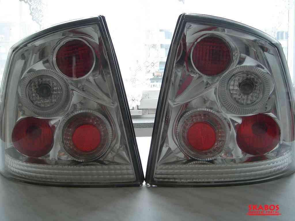 Zadní tuningové svetla Opel Astra G. (1/4)