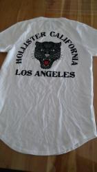 Bílé tričko Hollister Los Angeles vel. M/L nové