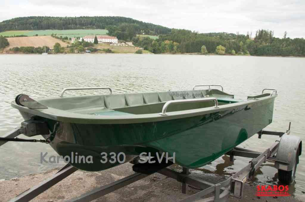 Pramice, rybářský člun, veslice,  loď Karolina 330 (1/6)