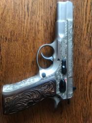Prodám ručně gravírovanou pistoli CZ, vzor 75, Par (1604141441/4)