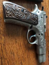 Prodám ručně gravírovanou pistoli CZ, vzor 75, Par (1604141443/4)
