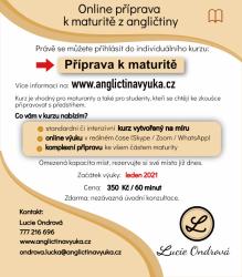 Online příprava k maturitě z angličtiny