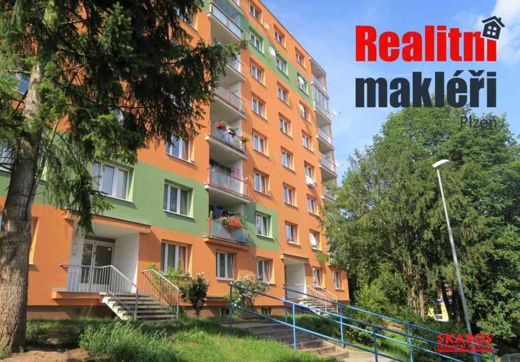 Pronájem bytu 1+kk, Plzeň, ul.Tichá (1/3)