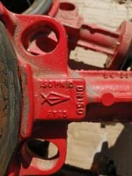 Mezipřírubová uzavírací klapka BURACCO (1606910071/5)