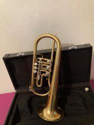 Dechový hudební nástroj  Křídlovku. (1607241586/3)