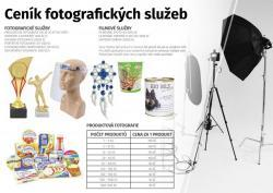 Nabízím služby fotografa produktů nebo pro firmy