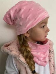 Dětská čepice s nákrčníkem (Minky) (1607429816/5)