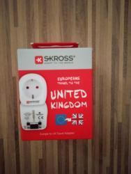 Cestovní adaptér UK