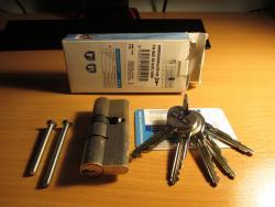 Bezpečnostní cylindrická vložka do zámku (1607889433/3)