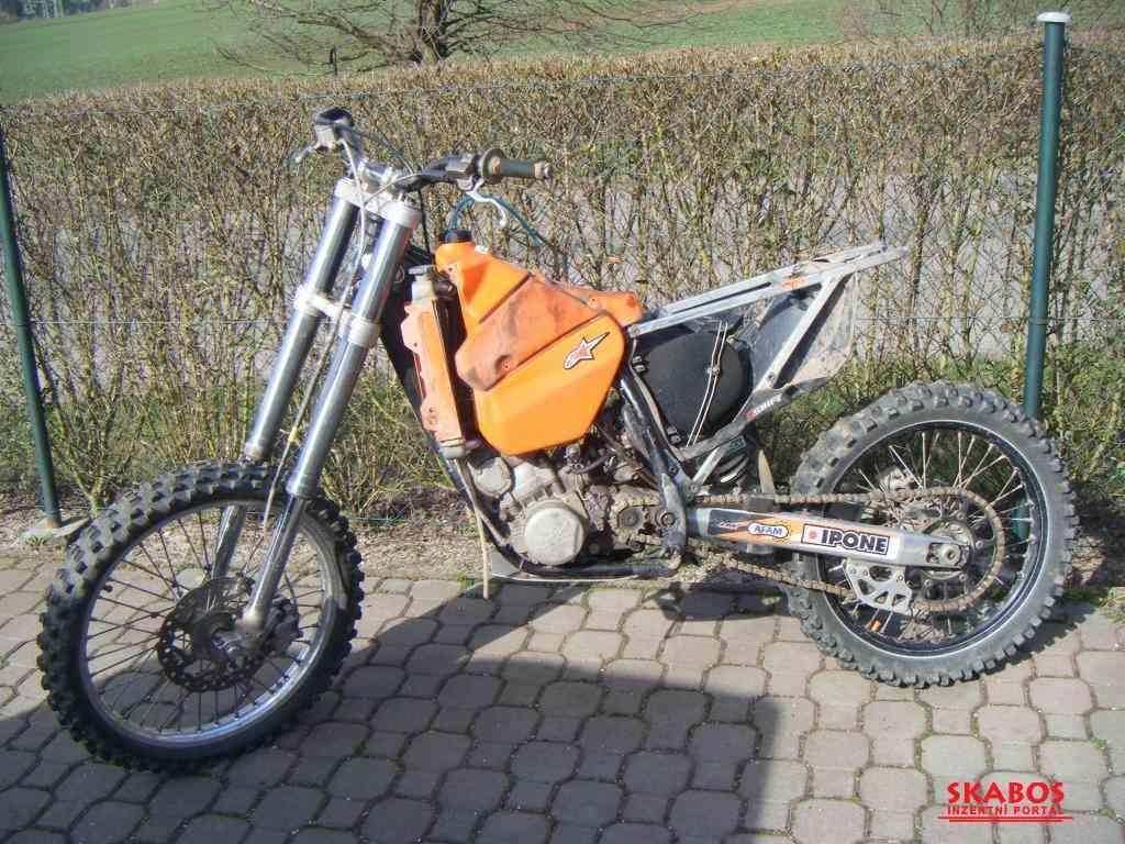 KTM EXC,SX 250/300 od roku 98-03. (1/4)
