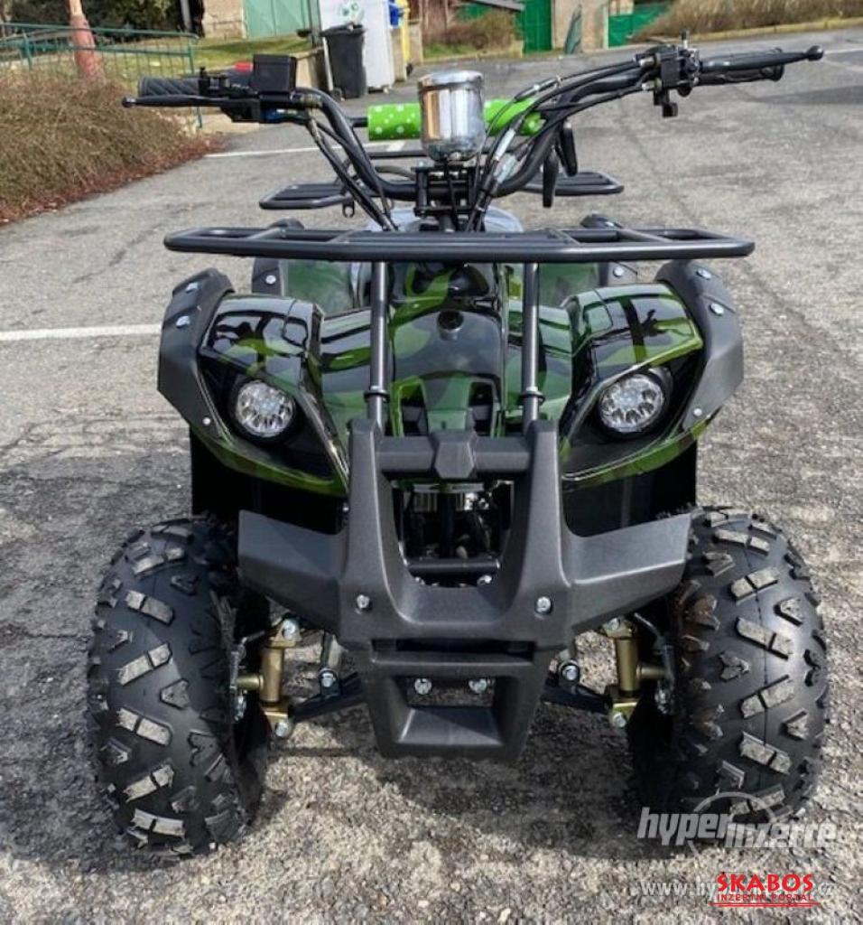 Dětská čtyřkolka Toronto model 2021 125cc 1G7-zele (1/11)