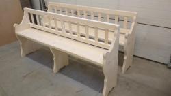 Replika dřevěné lavice (1609668064/3)