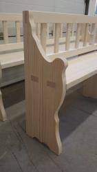 Replika dřevěné lavice (1609668065/3)