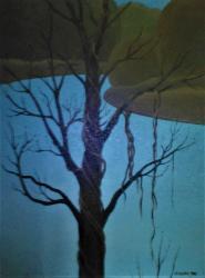 Antonín Vojtek, Strom, olej na plátně,