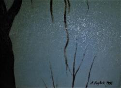 Antonín Vojtek, Strom, olej na plátně, (1610299994/2)