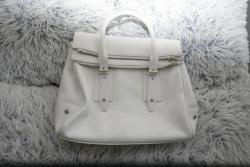 Bílá kožená kabelka Belstaff nová