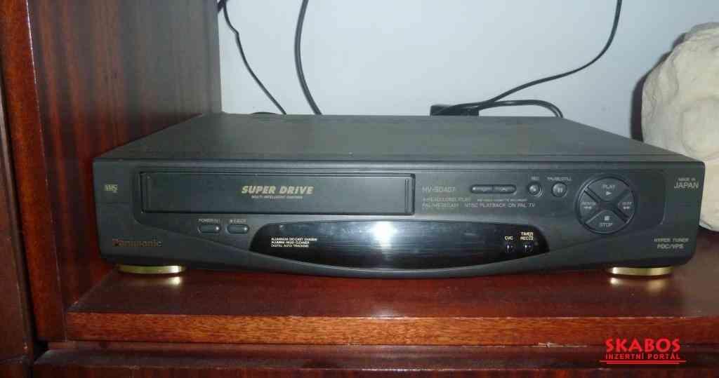DVD přehrávač, + kazety 5kč-ks (1/4)