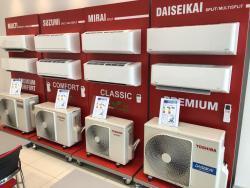 Klimatizace Toshiba v zimě topí, v létě chladí