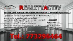 REALITNÍ KANCELÁŘ REALITY ACTIV, s.r.o.