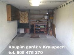Inzerát Garáž Kralupy koupím garáž v Kralupech