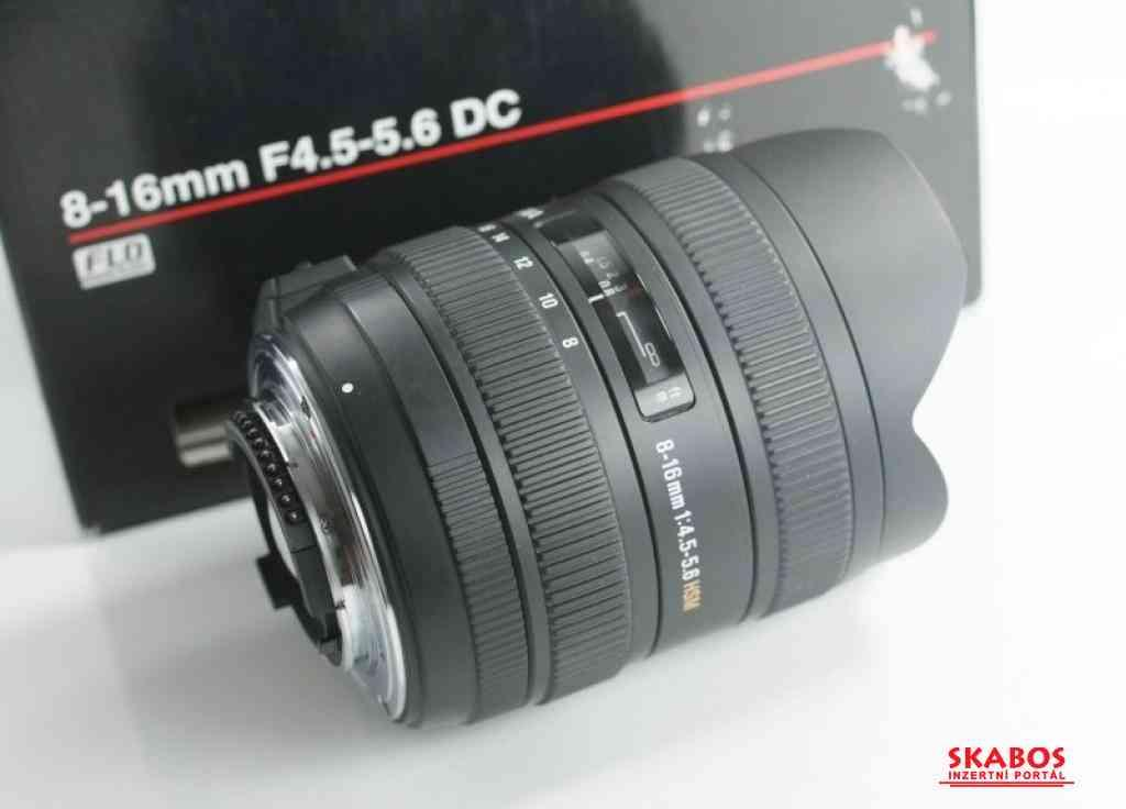 Objektiv Sigma 8-16mm F4.5-5.6 DC pro Nikon (1/1)