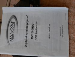 Satelitní přijímač MASCOM HD (1613407515/4)