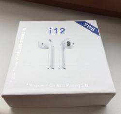 Bezdrátová sluchátka i12 (1613736932/3)