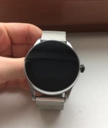 Chytré hodinky P7 stříbrné
