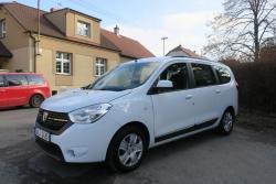 Dacia Lodgy,1.6i,75kW,1majČR,serv.kn,92tkm,tažné,tempomat