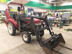 Jinma 204E traktor s nakladačem a rypadlem