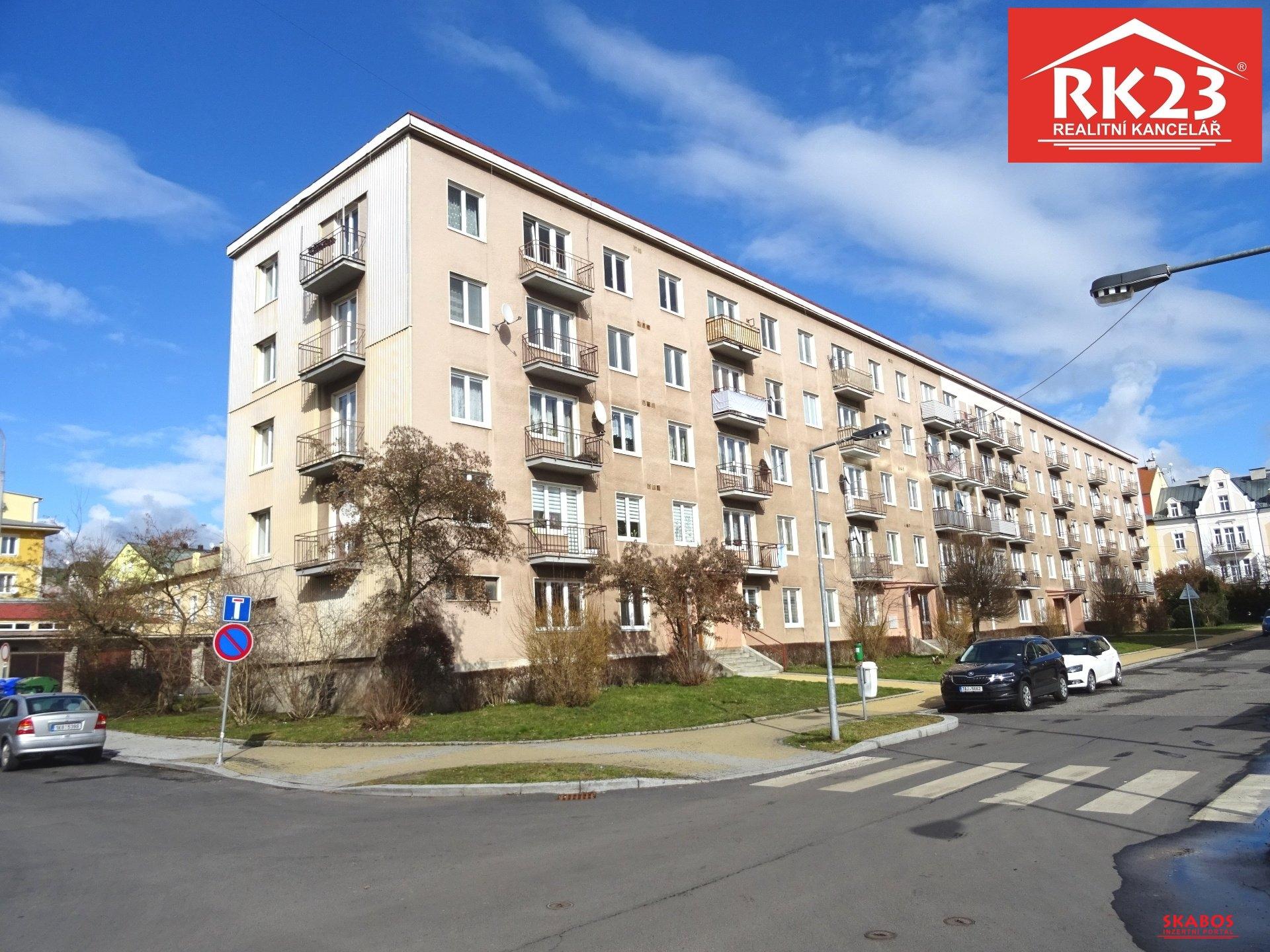 Prodej, Byt 3+1, 65 m2, Mariánské Lázně, ul. Lužická (1/17)