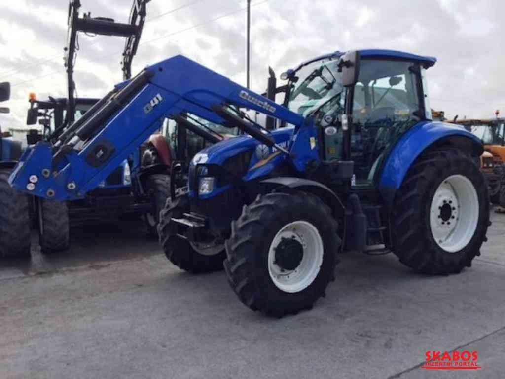 Traktor New Holland T5cI1c05 s nakladačem (1/3)